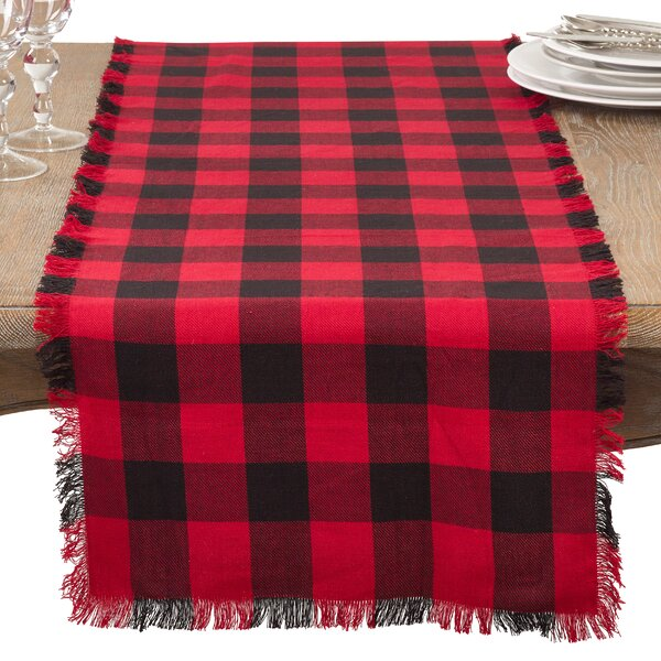Fitzroy Fringed Table Runner by Loon Peak