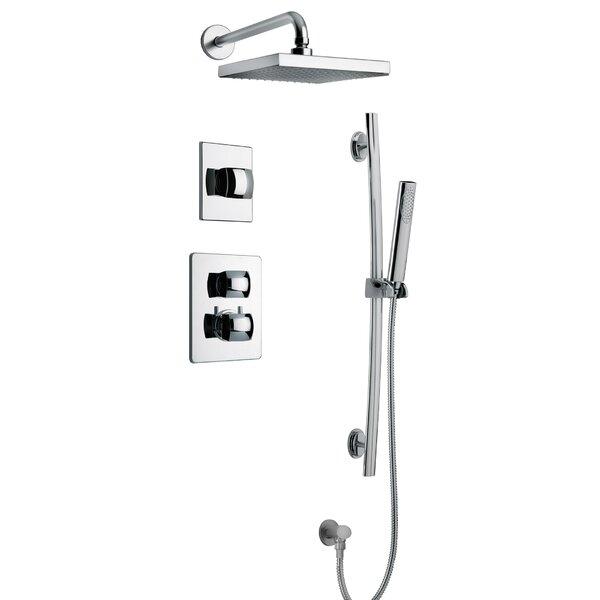 Lady Thermostatic Complete Shower System by LaToscana LaToscana