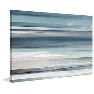 'Himara' by Parvez Taj Painting Print on Wrapped Canvas by Beachcrest Home