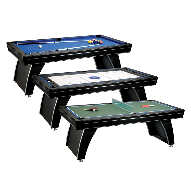 GLD Products Fat Cat Phoenix 3-in-1 7' Multi Game Table & Reviews