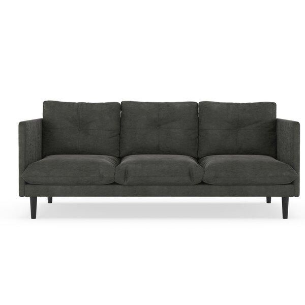 Cowles Micro Suede Sofa By Corrigan Studio