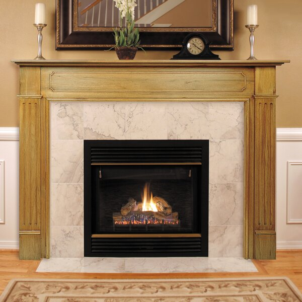 Pearl Mantels The Williamsburg Fireplace Mantel Surround & Reviews ...