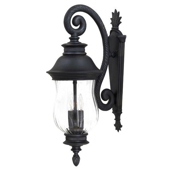 Newport 3-Light Outdoor Wall Lantern by Great Outdoors by Minka