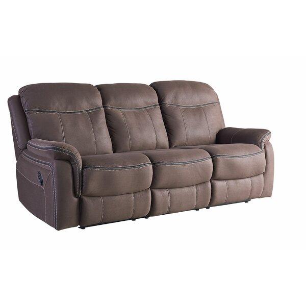 Garris Manual Motion Reclining Sofa by Red Barrel Studio
