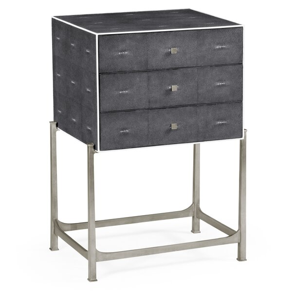 3 Drawer Accent Chest by Jonathan Charles Fine Furniture Jonathan Charles Fine Furniture