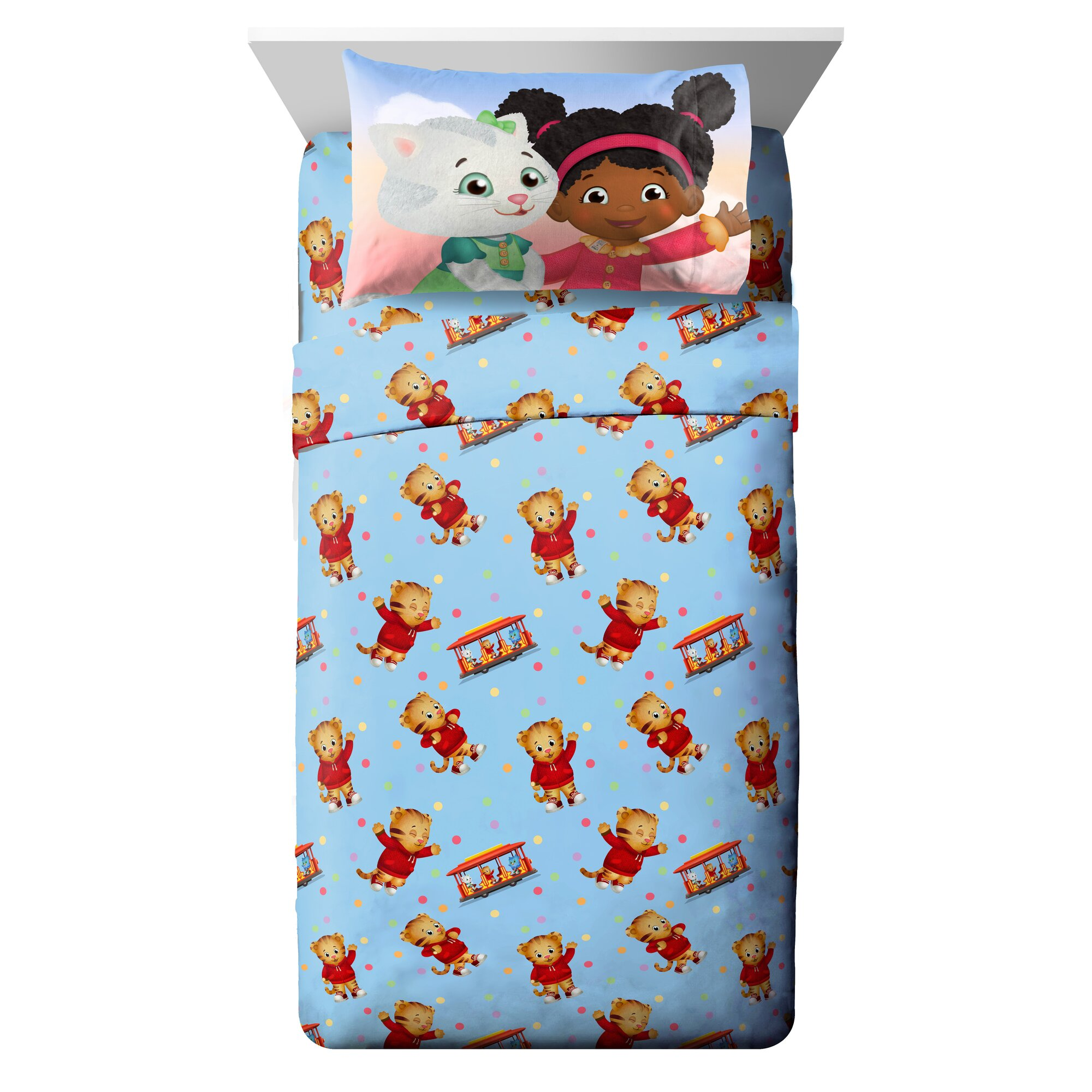 Daniel Tiger Toddler Bedding