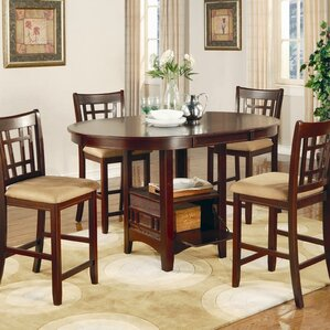 norwalk counter height extendable dining table. beautiful ideas. Home Design Ideas