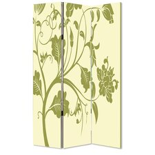 72 x 48 Avery 3 Panel Room Divider by Screen Gems