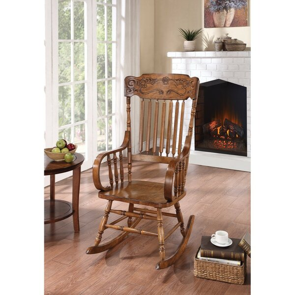 Paes Antique Rocking Chair by August Grove