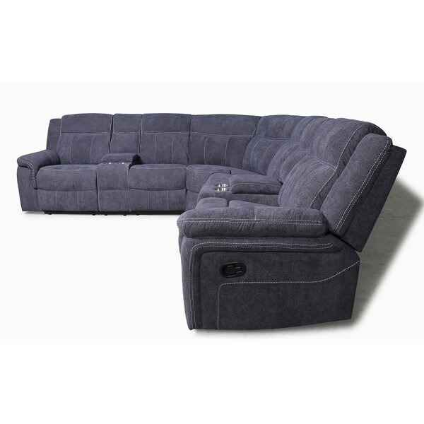 Lapham Symmetrical Reclining Sectional By Red Barrel Studio