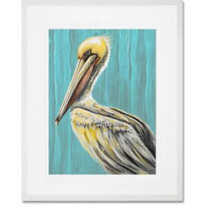 'Pelican Bay' Graphic Art Print by GreenBox Art