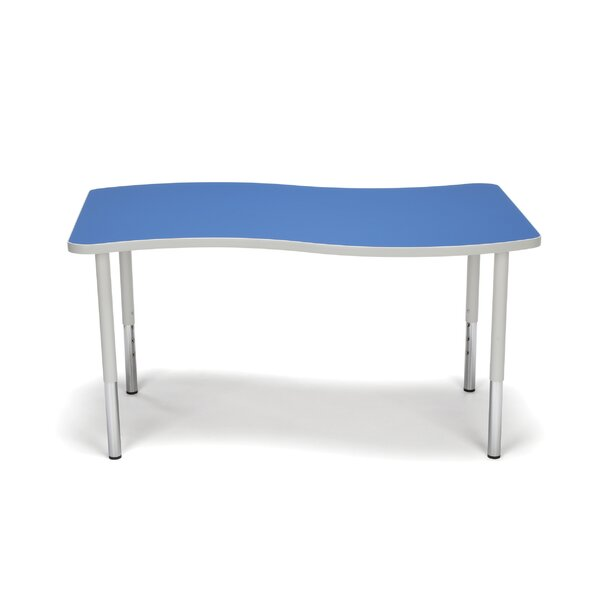 Adapt Series Wave Adjustable 54 x 35.75 Novelty Activity Table by OFM