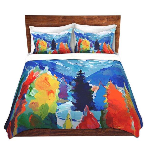 Alivia Hooshang Khorasani Cascade of Colors Microfiber Duvet Covers
