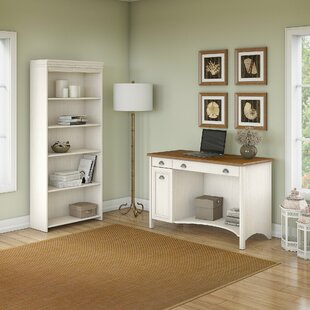 Resaca Writing Desk with Bookcase
