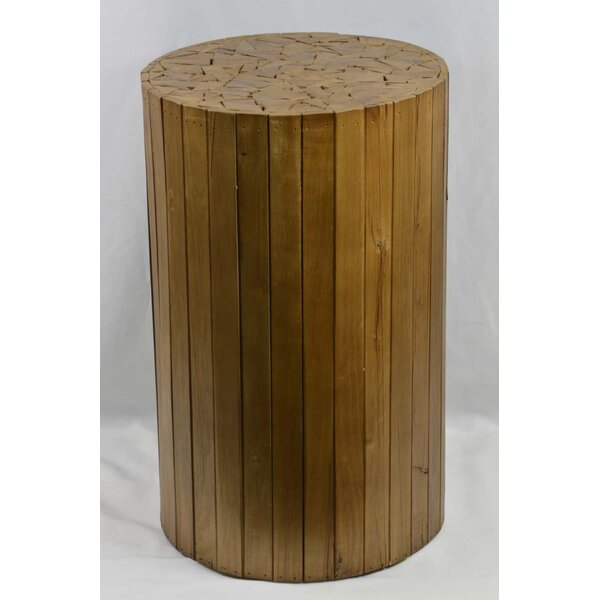 Arapaho Wood Accent Stool by Loon Peak