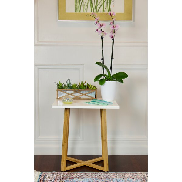 Wellston Pedestal Telephone Table by Ebern Designs