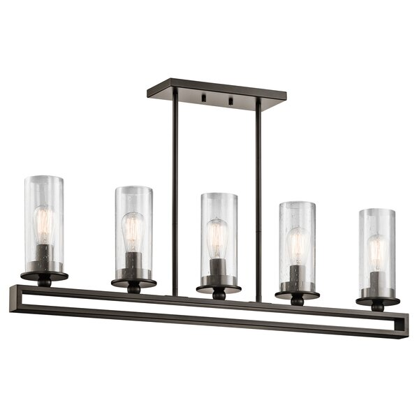 Turner 5-Light Kitchen Island Pendant by Williston Forge