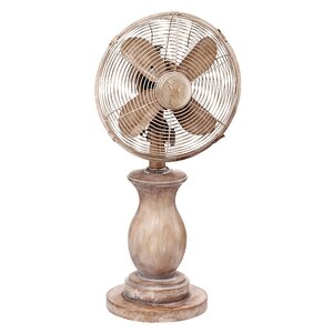 Serene Oscillating Table Fan