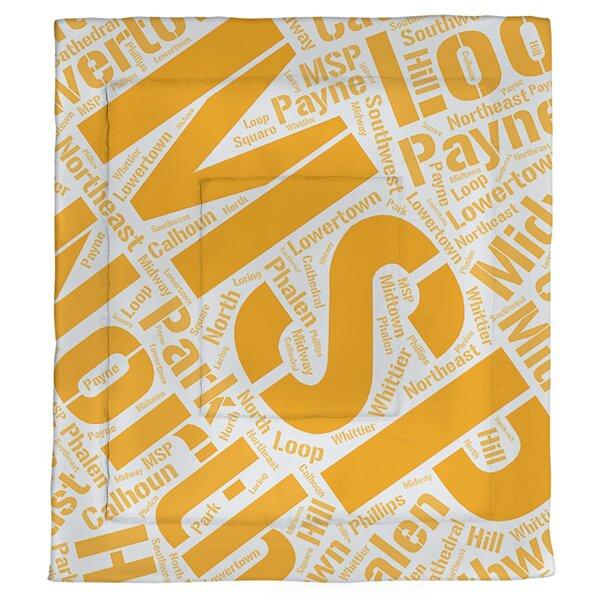 Minneapolis–Saint Paul, Minnesota Single Reversible Comforter