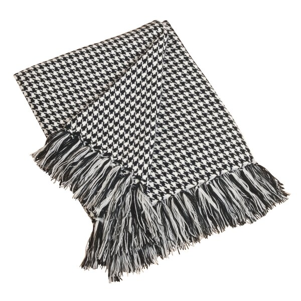 Richford Houndstooth Throw by Charlton Home