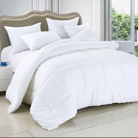 All Season Down Alternative Comforter Duvet By Alwyn Home.