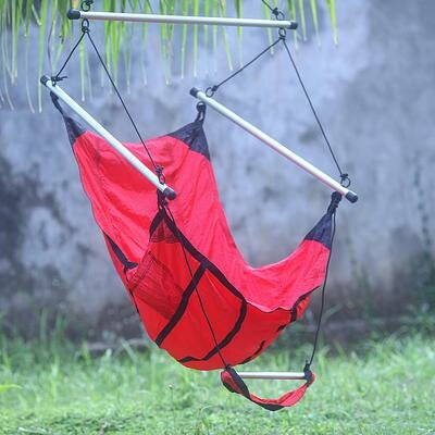 Parachute Nylon Chair Hammock by Novica
