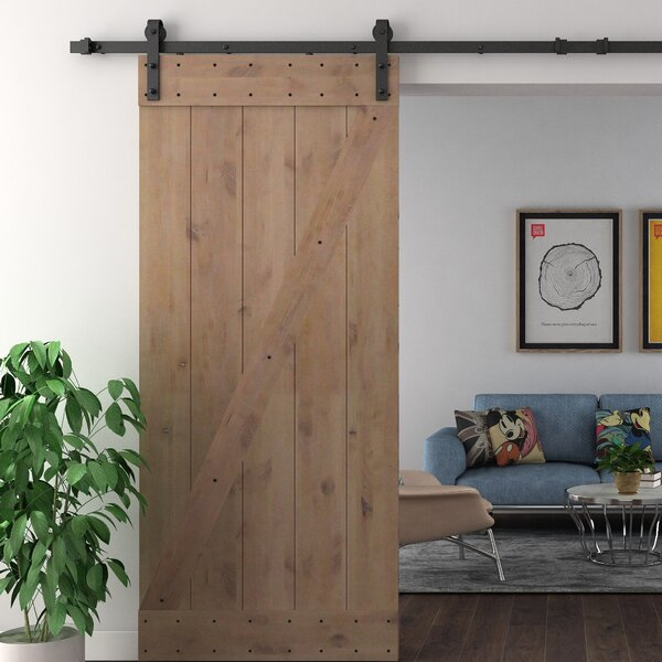 Solid Wood Room Dividers Double Interior Barn Door with Hardware Kit by Legion Furniture