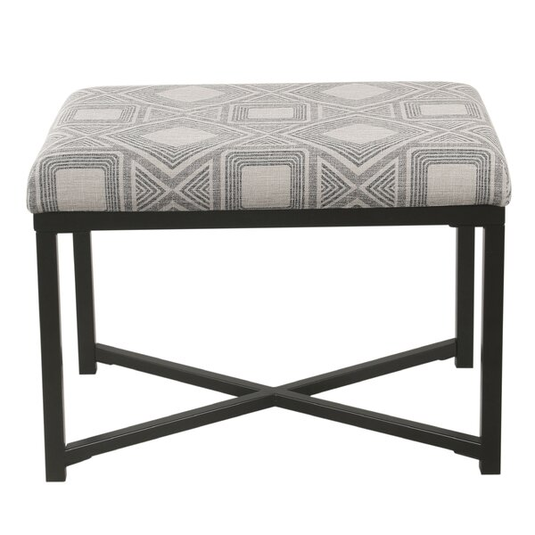 Merton X-base Ottoman by Foundry Select