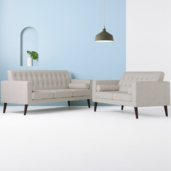 Brody 2 Piece Living Room Set by Hashtag Home