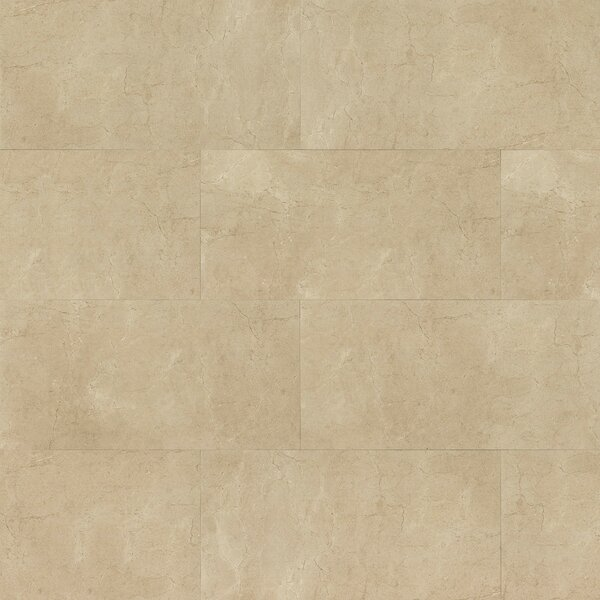 El Dorado 12 x 24 Porcelain Field Tile in Sand Polished by Grayson Martin