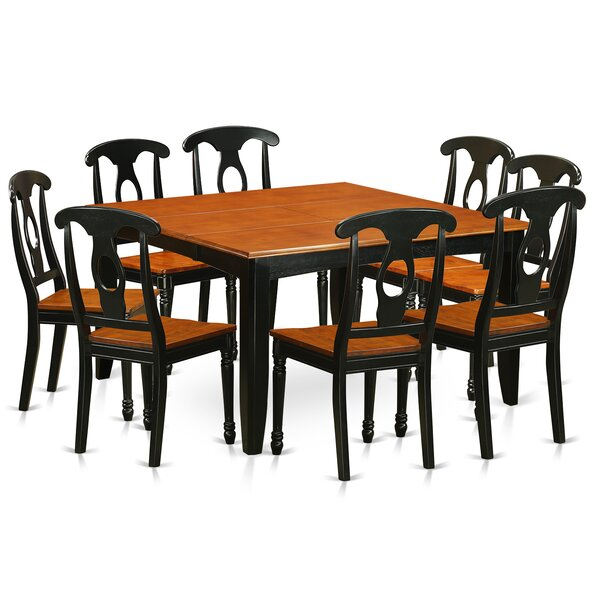Pilning Modern 9 Piece Dining Set by August Grove
