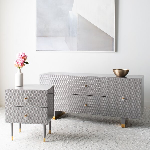 Gilda End Table with Storage by Everly Quinn