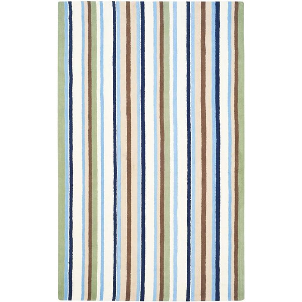 Claro Striped Multi Rug by Harriet Bee