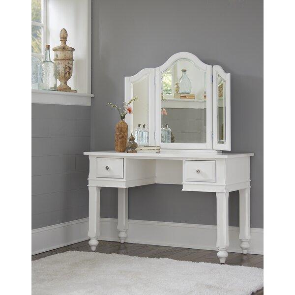 Javin Vanity with Mirror by Harriet Bee