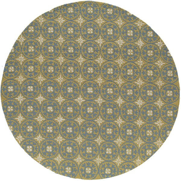 St James Yellow Outdoor/Indoor Area Rug by Charlton Home
