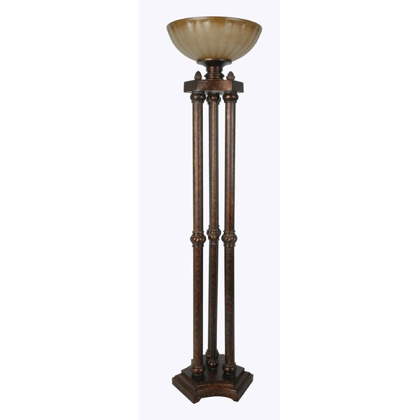 Polyresin 65 Torchiere Floor Lamp by Lamps Per Se
