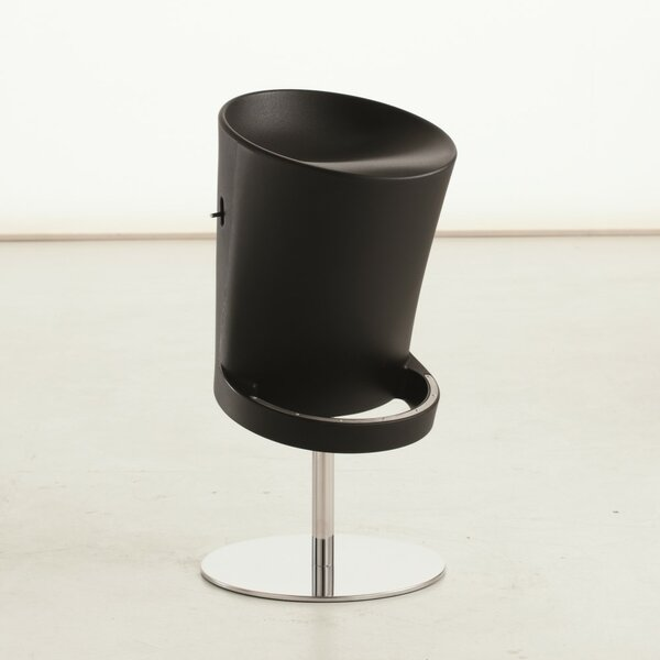 Olivia Air Adjustable Height Swivel Bar Stool by YumanMod