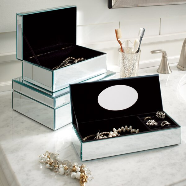 Hadleigh Mirrored Jewelry Box by Birch Lane™