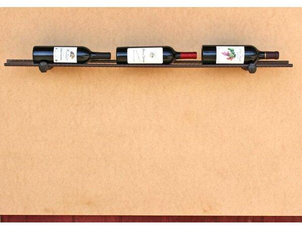 Horsetail Railroad Spike 3 Bottle Tabletop Wine Rack by Loon Peak
