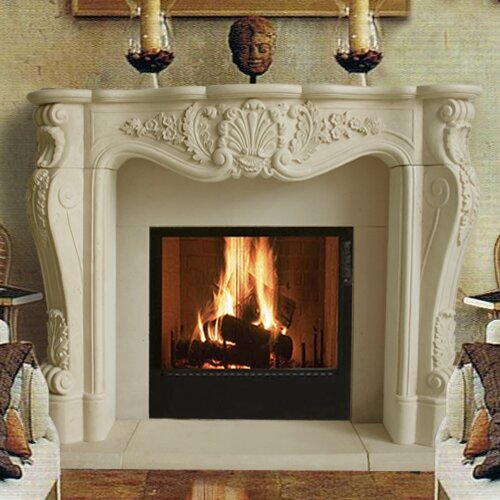Chateau Louis Fireplace Surround by Historic Mantels Limited