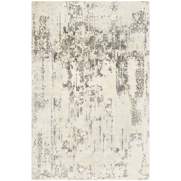 Issouf Glam Hand Tufted Ivory Area Rug by 17 Stories