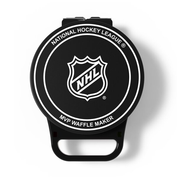 NHL Hockey Puck Waffle Maker by Pangea Brands