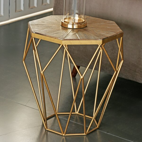 Frame End Table By CORNER COLLECTION
