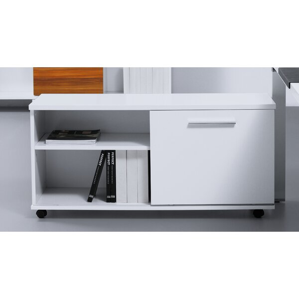 Pure Office 1-Drawer Lateral Filing Cabinet by Haaken Furniture
