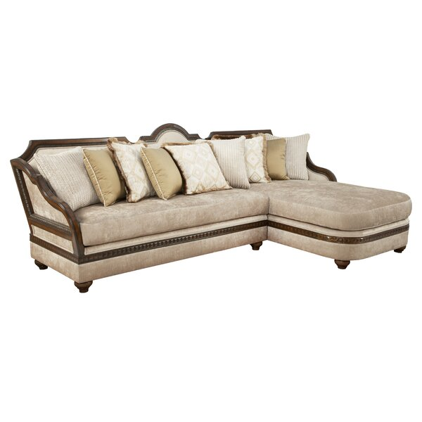 Lucianna Right Hand Facing Sectional By Benetti's Italia