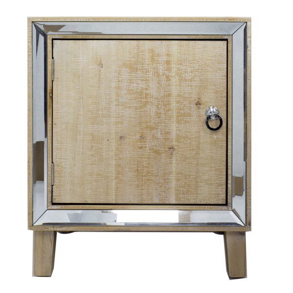Pellegrin 1 Door Accent Cabinet by House of Hampton House of Hampton