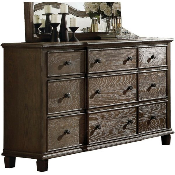 Dagenham 9 Drawer Double Dresser by Darby Home Co