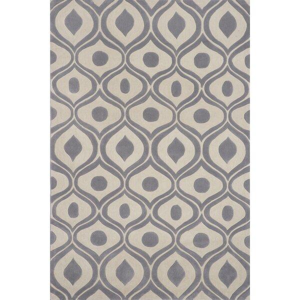Perkins Hand-Tufted Gray Area Rug by Zipcode Design