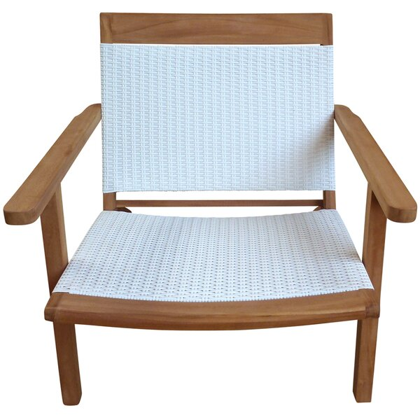 Siri Teak Club Chair by Highland Dunes