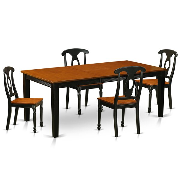 Pilger Modern 5 Piece Dining Set by August Grove